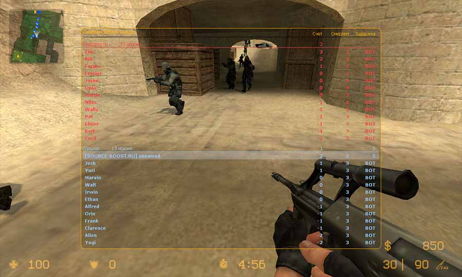 скачать игру counter strike source v84 через торрент с серверами
