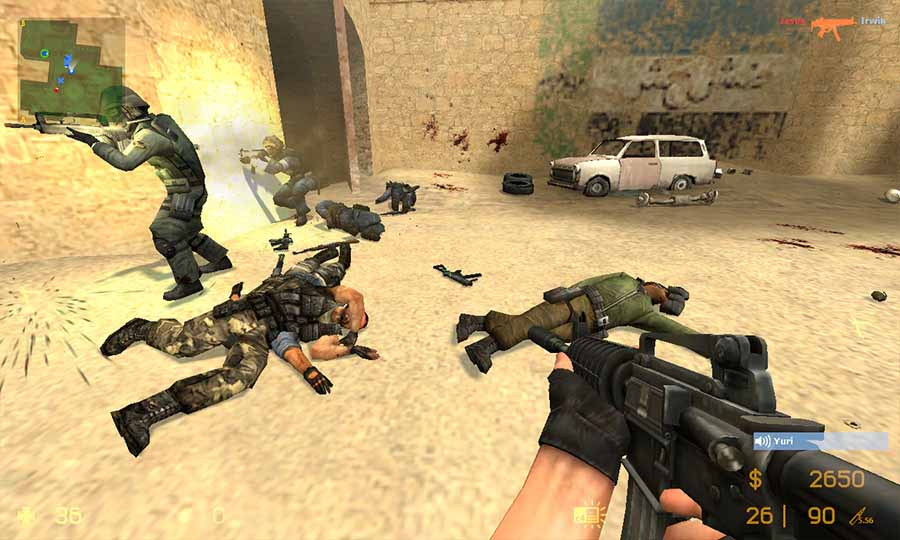 скачать wallhack для counter strike source v 720